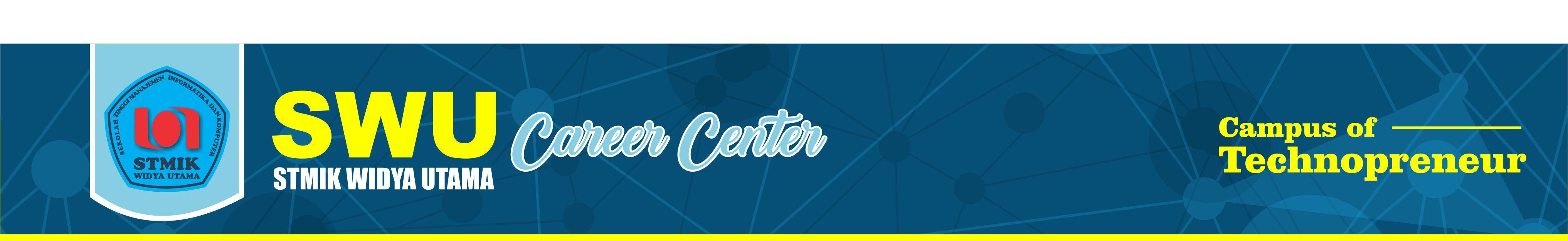 Header STMIK WIDYA UTAMA  Career Center